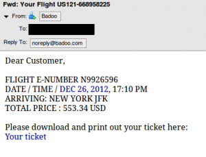 airline-spam