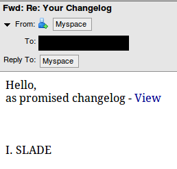 myspace-changelog-slade-spam