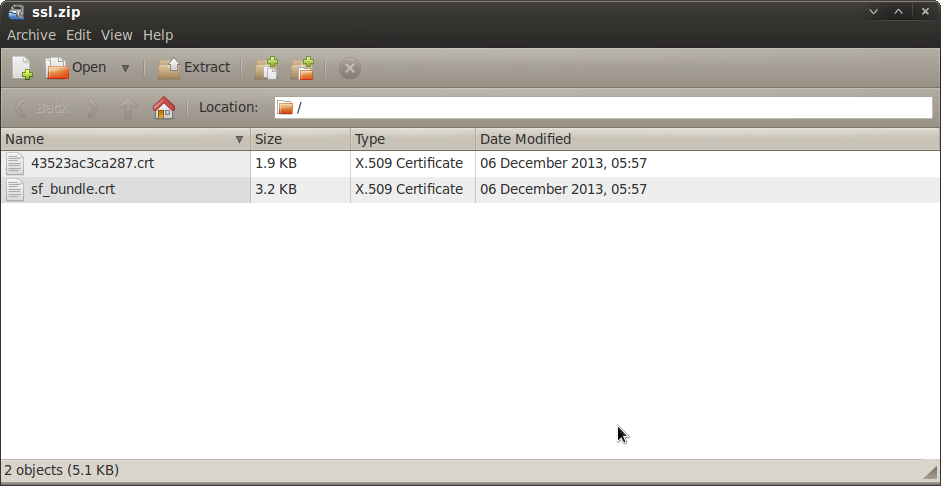 SOLVED] Jabberd2 Valid GoDaddy SSL Certificate?